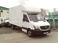 Mercedes-Benz Sprinter 313cdi 13ft Luton 130ps Tail Lift DIESEL MANUAL (2014)