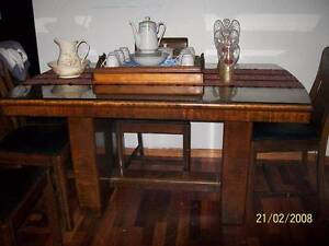Art Deco Table and chairs Craigieburn Hume Area Preview