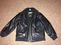 Leather jacket for boys age 7