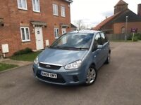 FORD C-MAX STYLE 1.8 TDCi DIESEL -ONLY 1 FORMER KEEPER -FULL FORD SERVICE -FREE DELIVERY-P/X WELCOME