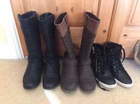Girls Boots and Shoes Size 2