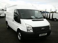 Ford Transit T350 Medium Roof Van Tdci 100Ps Euro 5 DIESEL MANUAL WHITE (2013)