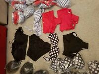 Joblot of over 90 bikinis all new with hygine strips