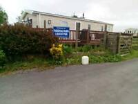 2 Bed 6 berth Caravan 4 Hire Parsonage Farm Amroth Pembrokeshire