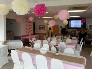 Wedding decorations and linens