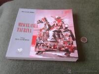 Libro Miscelanea Taurina Jose Luis De Cordoba Cajasur Toro Toros Bullfighting -  - ebay.es