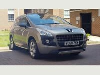 Peugeot 3008 2.0 HDi FAP Exclusive SUV 5dr Diesel Manual((FSH+W.MILEAGE+PAMROOF))