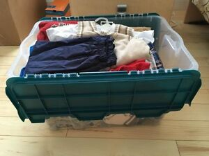 Boys Size 2 Bin of Clothing