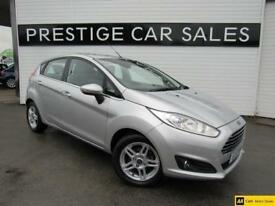 2013 Ford Fiesta 1.0 EcoBoost Zetec (s/s) 5dr Petrol silver Manual