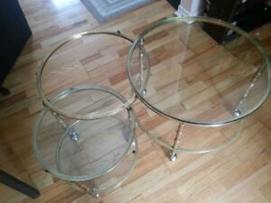 Solid Brass Swivel Table