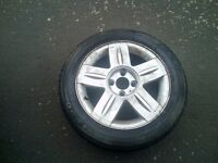 Type 185/55/R15 in good condition with renault wheel 4x100