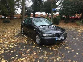 BMW 320i, Black, Mint Condition