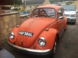 1972 vw beetle 1600 gt
