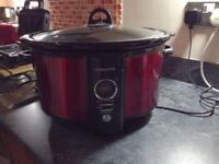 Andrew James 6.5L Digital Slow Cooker, Very Good Condition