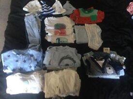 Massive bundle of baby boy clothes