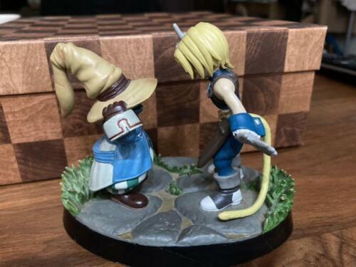 Final Fantasy 9 IX Diorama Zidane Vivi Original banpresto