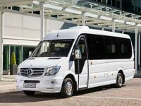 Birmingham Minibus Hire with Driver - 24/7 - Unbeatable Prices - All Drivers PCV Licensed