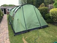Icarus 500 tent, footprint, awning and groundsheet. Been used 4 times