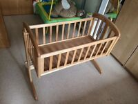 John Lewis natural crib