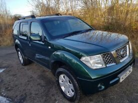 Nissan Pathfinder 2.5 DCi SVE**4x4**DIESEL**7 SEATER**F.S.H**LEATHER**TOWBAR**