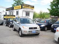 2002 Toyota RAV4 CERTIFIED-2.0L 4CYL-AWD A/C-Automatic