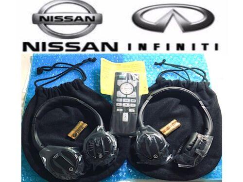 OEM 2018 2019 2020 QX60 QX80 Infiniti Car Entertainment 1 remote / 2 headphones