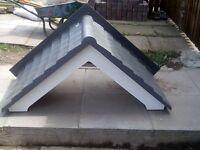 fibre glass front Door canapys