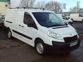 Peugeot Expert 1200 L2 Hl 1.6HDI 90ps DIESEL MANUAL WHITE (2014)