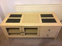 Living Room Furniture - Large TV Cabinet, Coffee Table, Side Table