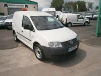 Volkswagen Caddy 2.0SDI 69ps DIESEL MANUAL WHITE (2010)