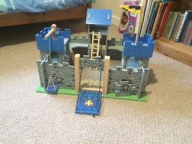 Wooden Excalibur castle