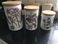the botanic garden canisters