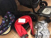 Baby jogger Versa GT + extras