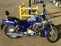 Wanted 125 motorbike or scooter