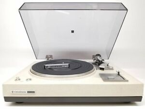 Kenwood KD-2055 Vintage Turntable - Legendary Turntable