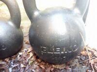 Eleiko Cast Iron Kettlebell 32kg open to offers