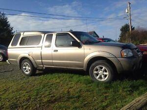 2004 Nissan Frontier Pickup Truck