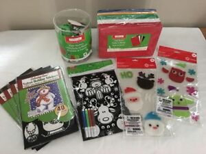 All New Holiday craft, stickers & decoration items