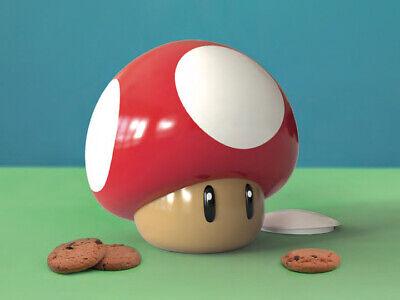 Super Mario Pilz Keksdose Perfektes Geschenk Offiziell Lizenziertes Produkt