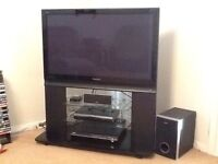 42 inch plasma TV with stand