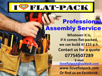 Professional Flat Pack Furniture Assembly Service. All brands catered IKEA, Argos, Very, Dreams etc.