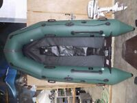 Inflatable boat & Engine