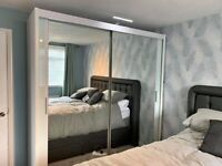 ◼️ ◻️◼️ ◻️TOP DEALS 2 AND 3 DOORS SLIDING WARDROBES WITH FULL MIRRORS, SHELVES, RAILS