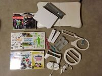 Reduced price Wii Bundle – including console, Wii Fit board, lots of games & accessories!