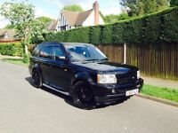 """2007 57 Range Rover Sport HSE 2.7 Diesel + Hawke Styling + 22"""" Alloys + HPI Clear + Service History"""