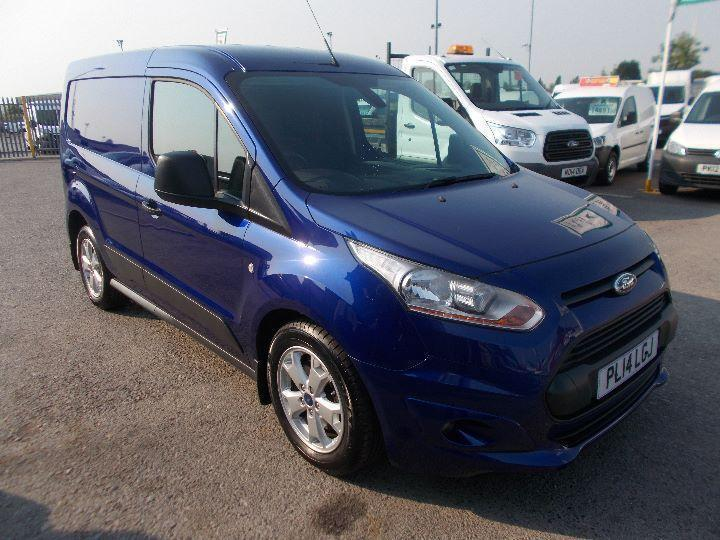 Ford Transit Connect 1.0 Ecoboost PETROL MANUAL BLUE (2014)