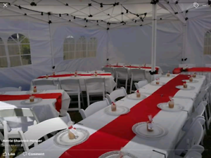 Marquee Hire from $39, table $6, chair $1 in Parramatta NSW