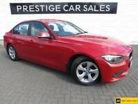 2013 BMW 3 Series 2.0 320d EfficientDynamics (s/s) 4dr Diesel red Automatic