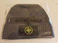 Mens Stone Island Beanie (Available in Grey/Navy or Black)