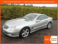 2005 55 Mercedes-Benz SL350 3.7 auto SL350 Cabriolet hard top only 55,000 miles